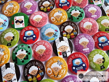 Customized pins for 90 years